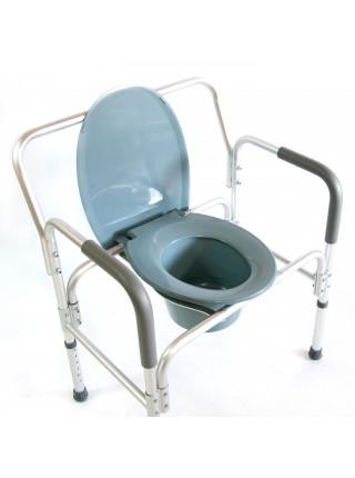 Кресло-стул с санитарным оснащением повышенной грузоподъемности